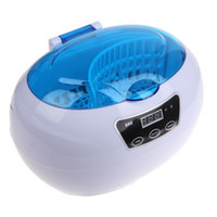 Wholesale Disinfection Machine - 35W Nail Tools Sterilizer Pot Disinfection 600ml Ultrasonic Cleaner Nail Tattoo Clean Metal Tool Disinfect Machine Cleaner Metal