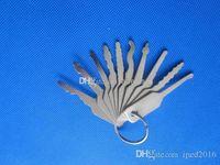 Wholesale Bumping Keys - 2017 Auto Jigglers (Try Out Keys for Cars) LOCKSMITH TOOL lock pick set door lock opener padlock tool bump key cross pick S049