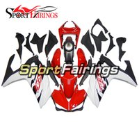 Wholesale R6 White Fairing Kit - Injection Fairings For Yamaha R25 2014 2015 R3 2015 ABS Plastic Complete Motorcycle Fairing Kit Bodywork Motorbike Cowlings White Red Carene
