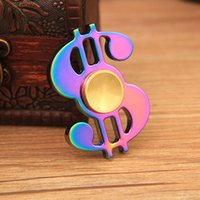 Wholesale Cheap Wholesale Puzzle - Gold Color Metal Spinner Fidget Puzzle Tri-Spinner Hand Spinner For 3Mins Cheap Factory wholesale For Brass Relieve Stress Fidget Toys Metal