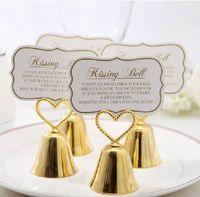 çan kartları toptan satış-Güzel Altın ve Gümüş Öpüşme Çan