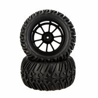 Wholesale Rc Traxxas Truck - GoolRC 4Pcs High Performance 1 10 Monster Truck Wheel Rim and Tire 8010 for Traxxas HSP Tamiya HPI Kyosho RC Car RM2310