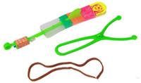 детские игрушки для мальчиков оптовых-Hotest новизны Дети LED Летающие игрушки Самый большой размер Slingshot Удивительные вертолета стрелки для Birthday Party Supplies
