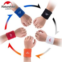 All'ingrosso-Naturehike Sweatbands Terry tessuto cotone Wristband Sweat Wristband Sport Yoga Workout Correre Donne Donne Supporto polso