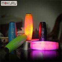 pinte o desktop venda por atacado-Mokuru LED Light Fidget Vara Rollver luzes da noite fidget spinners O Incrível Flash Desktop brinquedos Flip Toy Adultos Descompressão Ansiedade melhor