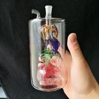 ingrosso piatti di fiori-Il fiore zucca piatto di seta narghilè su grande vetro, bong all'ingrosso bruciatore di olio tubi tubi di olio di vetro tubo di olio suini fumo spedizione gratuita