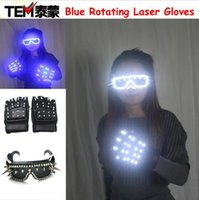 Lunettes LED Lunettes Rivet Punk Articles de fête Supports de danse Costumes Costumes d'Halloween