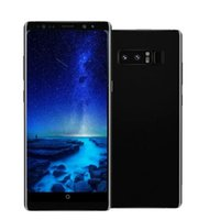 Wholesale note smart phones - ERQIYU Goophone note8 Note 8 unlocked 6.2inch smartphones Android 7.0 MTK6592 Octa core shown 128G ROM 4G LTE cell phones