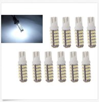 100PCS T10 68SMD 1206LED 68 SMD LED W5W 194 927 168 Wedge Side luce di posizione luci targa lampadina licenza DC12V all'ingrosso