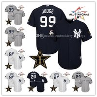 Men black star games - Men s All Star Game jersey Gary Sanchez Aaron Judge York Yankees Baseball Jerseys Stitched Cool Base Jerseys