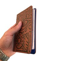 Wholesale Passport Cover Cute - Egypt vintage cheap men passport protective cover wallet pu leather cute customized travel passport holder case