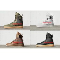 Wholesale Hot Shoe Arm - [With Box]Hot Sale Special Field Air 1 One Men Women High Boots Running Shoes Sneakers Unveils Utility Boots Armed Classic Shoe