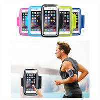 Wholesale Iphone Accessories Running - Waterproof Sport Armband Case for iphone 6 6s i6 Gymnasium Activities Accessories Running Phone Pouch Cover Arm Band