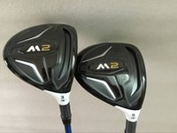 Wholesale Graphite Wholesale - Golf clubs M2 3# 5# Fairway Woods Regular Stiff flex 2PCS M2 Golf Woods Right hand