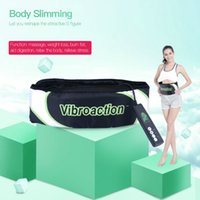 Горячая продажа Vibroaction Massager Electronic Body Muscle Waist Slimming Massage Slim Belt Fat Burning Weight Loss Exercise Toning Belt