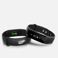 relógios de pulso venda por atacado-ID101HR smartband Pulseira De Fitness Rastreador inteligente pulseira Atividade Pedômetro Bluetooth Rastreador de Freqüência Cardíaca
