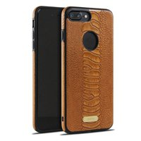 Wholesale Iphone Crocodile Leather - Business Stitching Crocodile Pattern Leather For iphone7 iphone6s Protective Case Leather Soft Case High Qulity Retail Package Free Shipping