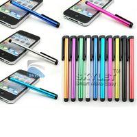 caneta afiada do ipad venda por atacado-Caneta stylus capacitiva caneta de tela de toque para ipad telefone / iphone samsung / tablet pc dhl frete grátis
