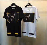 Wholesale Off White Ladies Shirts - New style OFF White T shirt Men Women USA Size Religion Jesus Our Lady Off White Abloh Virgil T-shirts Top Tees