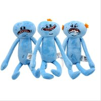 Wholesale wholesale cheap dolls - 10pcs   set 20-30cm Rick and Morty happy and sad Meeseeks doll plush toys children cartoon cartoon toys gifts cheap manufacturers wholesale