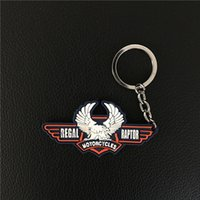Wholesale Accessories For Motorbikes - New Hot sale gift Eagle Motorcycle Key Chain Keychain accessories motocross motorbike Keyring for Regal Raptor Motorcycles
