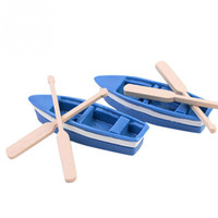 Wholesale Boats Paddle Micro Landscape Crafts Resin Small Ornaments DIY Materials
