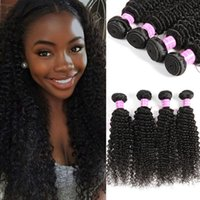 Wholesale Indian Remy Curly Wefts - Cosy Unprocessed Brazilian Virgin Kinky Curly Hair Extensions Remy Human Hair Weaves Bundles Cheap Brazilian Human Kinky Curly Hair Wefts