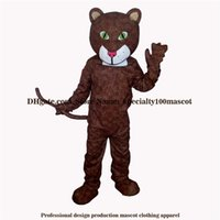 Mascot Costumes black panther mascot - High quality carnival adult Leopard mascot costume Real pictures deluxe party the cool panther mascot costume factory direct