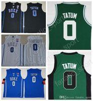 fa06b2fb0 2017 New MenCheap Duke Blue Devils College Jayson Tatum Jersey 0 Jayson  Tatum Basketball Jerseys Team Black Blue White Green Quality