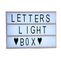 1x3x3 spelling led - A4 Size Letter and Bblank Cards LED Concise Letter Lamp Innovative DIY Letter Spelling Puzzle LED Light Box LearningToy