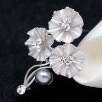 ayçiçeği korsajları toptan satış-Aptal Gümüş Altın Ayçiçeği Broş Pin Corsages Eşarp Klipler Rhinestone Çiçek Düğün Broş Düğün takı Noel Hediyesi