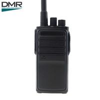 Wholesale Digital Walkie Talkies - RowayRF TYT HYT DMR Digital Walkie Talkie Two Way Radio Long Range High Quality UHF Black Civilian Radio MD-390