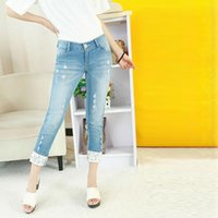 Distributors of Discount Womens Denim Capris Lace | 2017 Lace ...