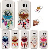 TPU Quicksand Dreamcatcher per iPhone6 ​​caso 6plus iphone 7plus per Galaxy S8 J510 J3 2017 A5 2017 del telefono copertura della cassa della pelle