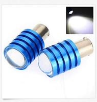 Wholesale Pure White 1156 - 50PCS 1156 1157 T20 7W Cree Q5 LED Pure White Car Signal Reverse Light Lamp Bulb
