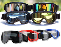 Wholesale Windproof ski goggles PC lens with TPU frame motocross sandproof glasses sports tactical air flow lightly ski goggles colors available