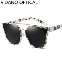 Wholesale Designer Cateye Eyewear - Vidano Optical POLARIZED Edition Cute Cat Eye Sunglasses For Men & Women Latest Fashion Designer Cateye Sun Glasses Eyewear UV400
