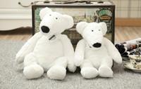 rato brinquedo para o bebê venda por atacado-Yoga Urso De Pelúcia Brinquedo Criativo Bonito Urso Polar, rato, pato, boneca De Pelúcia Macia Conforto Bebê Brinquedos de Presente de Aniversário Para Crianças Dos Miúdos namorada
