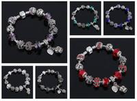 große wischtücher großhandel-Bestes Geschenk Wundervolle Perlen, die Mischungsauftrag 20 Stücke des Ölvolldiamantarmband-großen Locharmbandes FB293 viel Charme-Armbänder abwischen