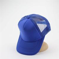 Wholesale Mens Mesh Hats - Brand Mesh Snapback Caps Hat Mens Caps Unisex Gorras Hip Hop Snapbacks Mesh Sun Hats For Men And Woman