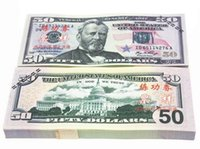 Wholesale Dollars Fake Paper Money Bank USA Training Collect Learning Banknotes
