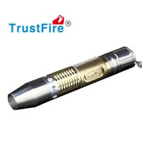 Wholesale Led Jade Torch - UV LED Flashlight Jade Identification Jewelry LED Torch White Yellow Light Stainless Steel 18650 Rechargeable Portable Jade Test Flash Light