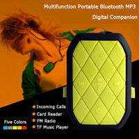 Wholesale Portable Picture Player - Wholesale- Uetone UT-H05 Wireless Portable Sports Music Bluetooth MP3 Player Bluetooth Call Take Pictures MP3 TF USB FM Radio Compatible