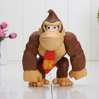 Wholesale Super Mario Action Figures Collection - 15cm Super Mario Bros Figure Donkey Kong PVC Action Figure Collection Model Toys kids gifts