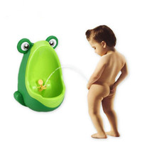 Wholesale Wall Mounted Children Baby Potty Toilet Training Kids Urinal Boy Plastic Toilet Seat High Quality Baby Care Groove Product Children Toilet B