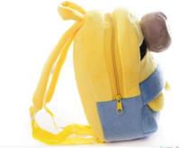çanta köleleri toptan satış-Moda Sevimli Despicable Me Çocuk Hediyeler Çocuk Okul Çantası Çocuk Sırt Çantası Çocuk Peluş Minions Oyuncak Çocuk Gir Karikatür Omuz Çantası