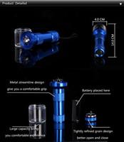 vaporisateur de tabac électrique achat en gros de-Nouveau broyeur électrique Tabaceur à épices de tabac pour stylo vaporisateur d'herbes sèches alimenté par AAA batterie au lithium rechargeable DHL livraison gratuite