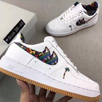 Wholesale Th Leather - 01Air Retro 1 OFF WHI th 2017 New Air Retro 1 OFF WHITE x black red men Basketball Shoes top Quality Sports Box wholesale trainers size 7-13