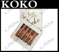 Wholesale Love Dolls Sales - Factory direct sale 2017 HOT New Kylie Koko Kollection 2 lipstick collection kit In Love With The Koko 4 Piece Doll Bunny