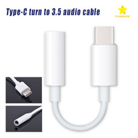 Wholesale Aux Jack - Type C Connector to 3.5mm Earphone Headphone Audio AUX Jack Adapter Cable for Samsung Type C